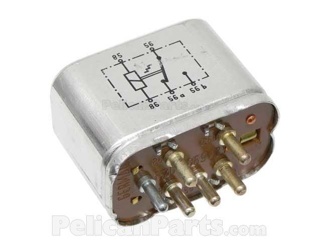 Windshield wiper motor relay 0005426819 genuine mercedes for Windshield wiper motor relay
