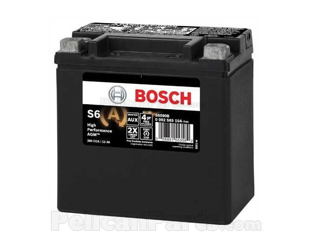 Auxiliary Battery 2115410001 Bosch Mercedes Benz 211