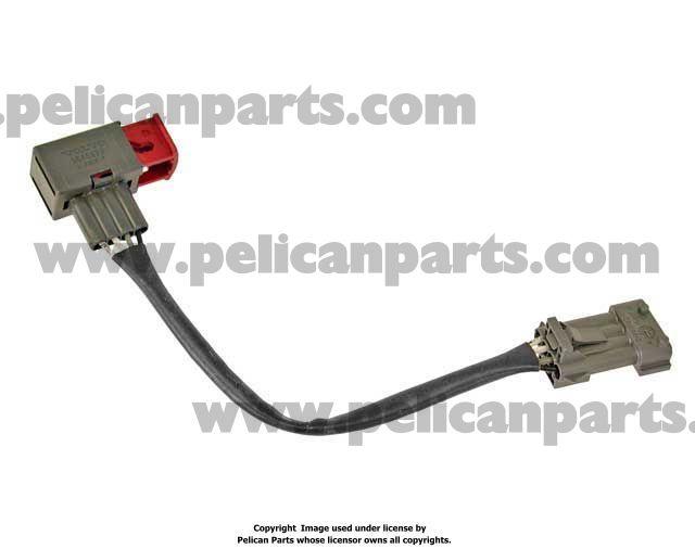 oxygen sensor wiring harness 9202715 volvo pelican parts