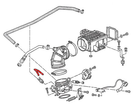 fi_1986 89_1 07 00b 14 vacuum hose 91111095300 genuine porsche 911 110 953 00 porsche 911 alternator wiring diagram at edmiracle.co