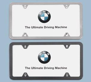 BMW Slim Line License Plate Frame 82110034723   Genuine BMW    82 11 0 034 723 | Pelican Parts