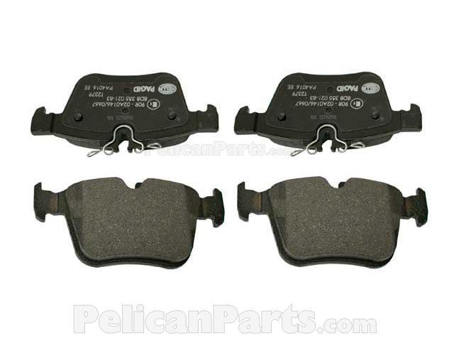 Brake Pad Set 0004208200 Hella Pagid Mercedes Benz