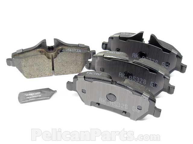 MINI Genuine Front Brake Pads Set 34116772892