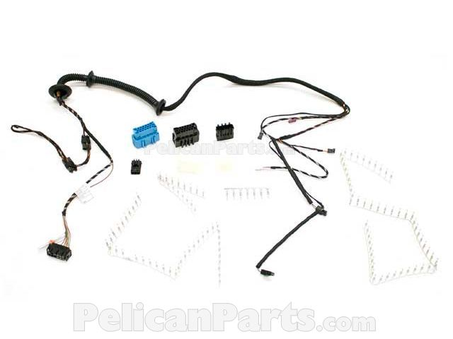 trunk lid wiring harness 61116907260 - genuine bmw