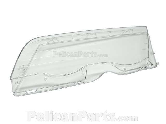 BMW Headlight Lens - Automotive Lighting - 63128380189 LRA272 63 12 8 380  189