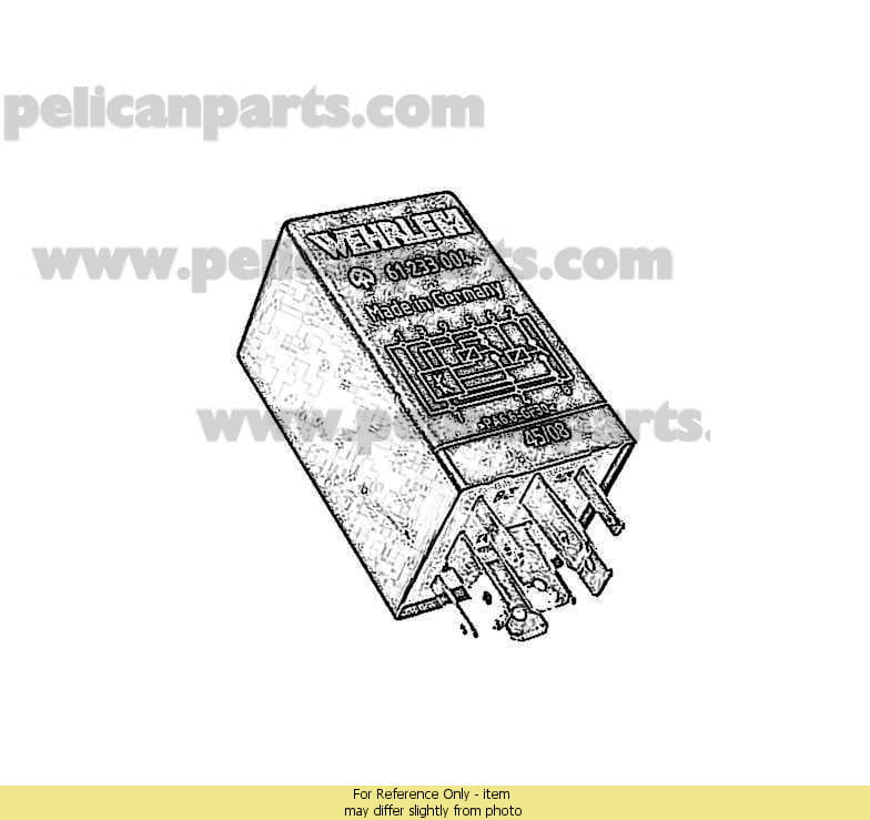 3A0927181 volkswagen eurovan (1993 2003) switches, motors, relays, fuses  at aneh.co