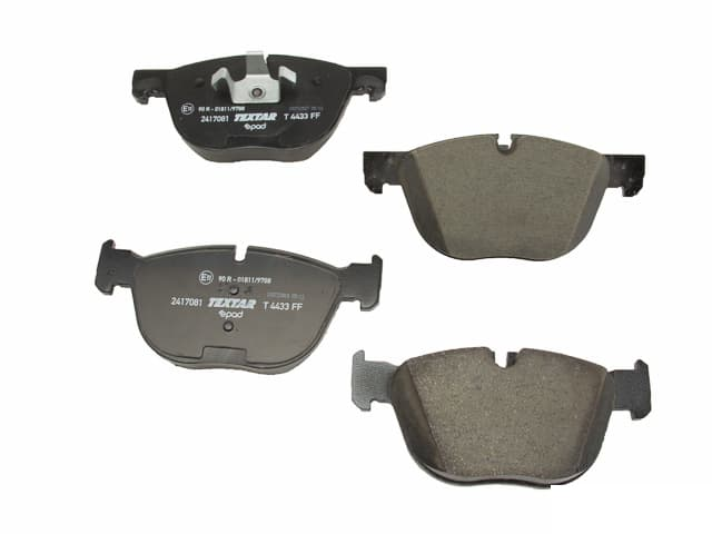 BMW x5 3.0si xDrive30i 35d 35i x6 xDrive35i TEXTAR Rear Disc Brake Pad Set