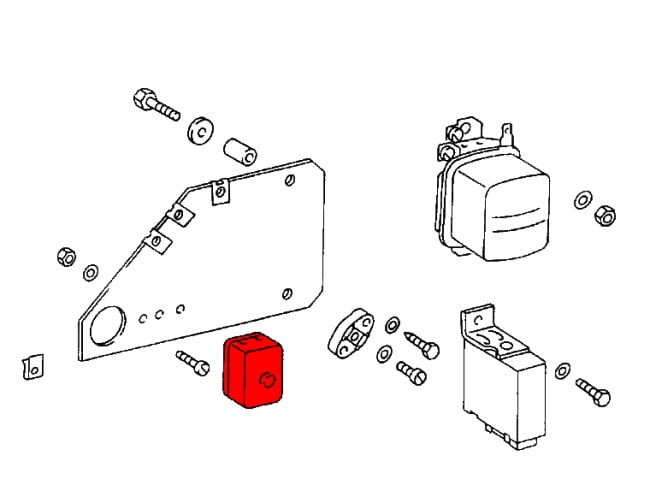 fuse 20box 20 90161208503 - genuine porsche