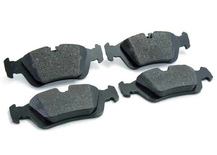 Front /& Rear Ceramic Brake Pads w// Hardware for BMW 330i 330Xi M3 X3 Z4 330Ci