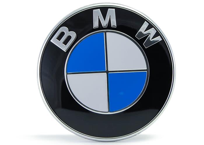 bmw emblem roundel 82 5 mm genuine bmw 51 14 8 132. Black Bedroom Furniture Sets. Home Design Ideas
