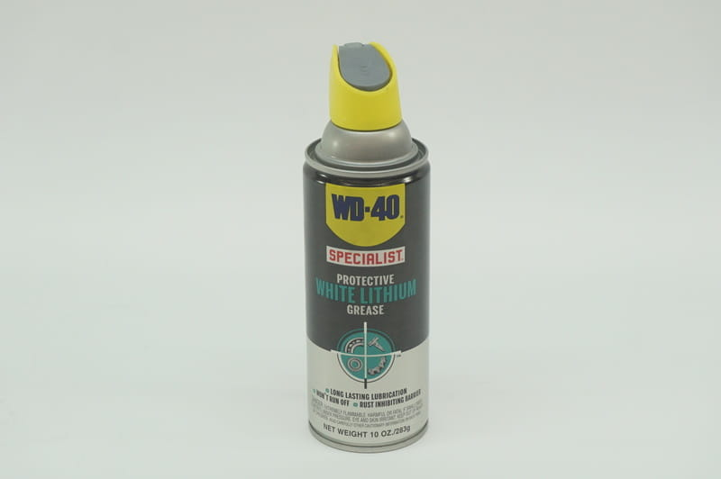 Lithium Grease - WD-40 Protective White Lithium Grease (10 oz  Aerosol Can)