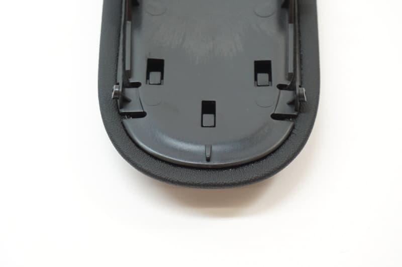Mini Armrest Cover Black Imitation Leather Genuine Mini For R59 R58