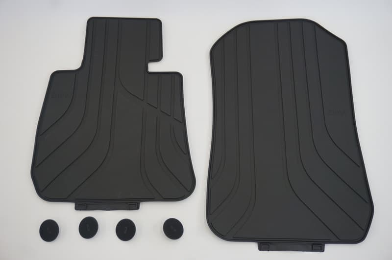 Bmw Floor Mat Set All Weather Rubber Genuine Bmw 51 47 2 311 024