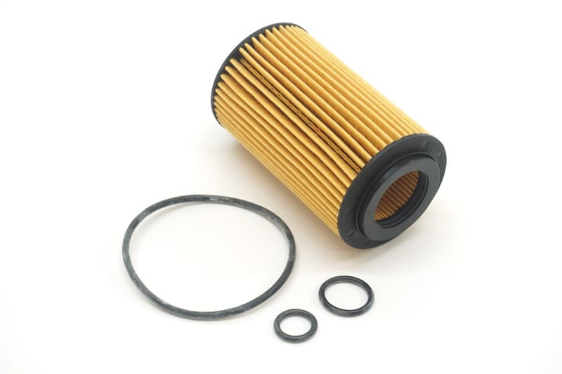 For Mercedes W204 GLK250 2013 Oil Filter Kit Hengst 651 180 01 09