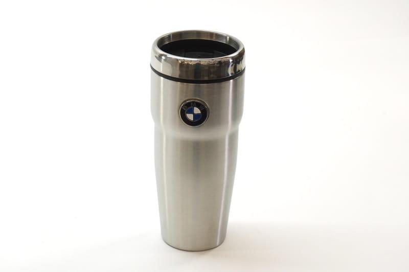 Genuine BMW Metal Silver Thermo Mug 80 56 2 211 967