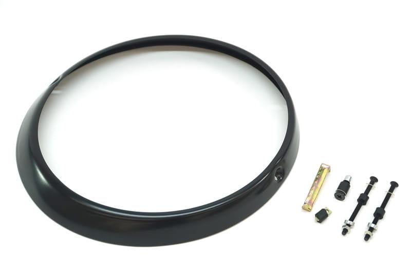 Pro Braking PBR2730-SIL-BLA Rear Braided Brake Line Silver Hose /& Stainless Black Banjos