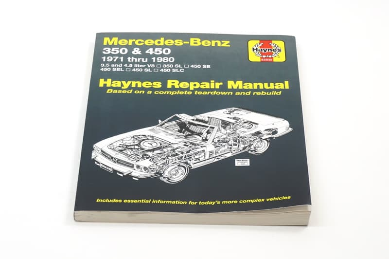 mercedes benz sl class 1972 1989 r107 c107 engine miscellaneous rh pelicanparts com mercedes r107 workshop manual mercedes w107 workshop manual