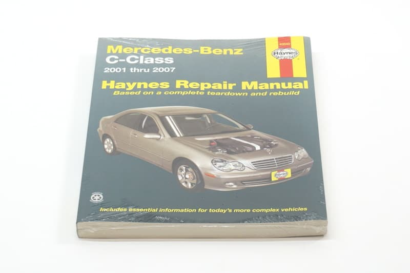 mercedes benz c class 2001 2007 w203 books technical rh pelicanparts com