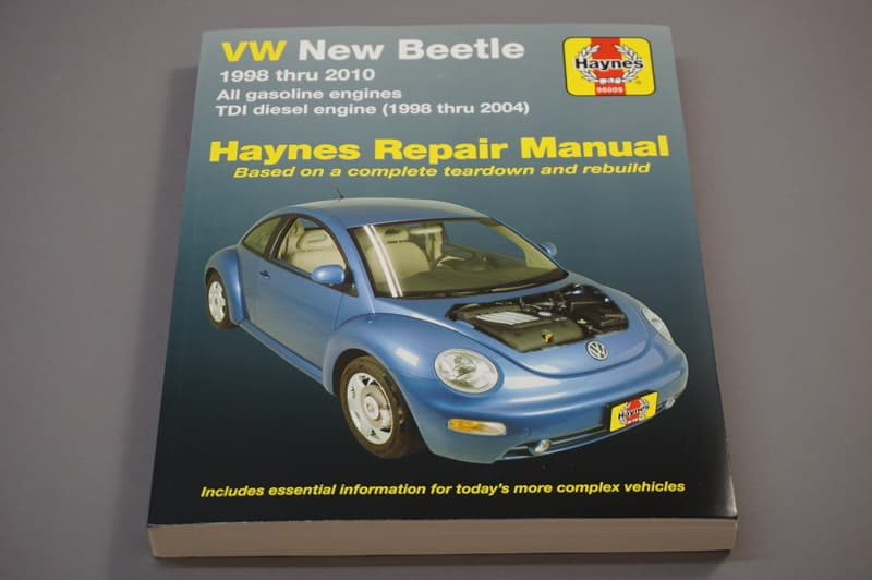 volkswagen beetle 1998 2010 books technical documentation rh pelicanparts com 2000 Volkswagen New Beetle 2000 Volkswagen New Beetle