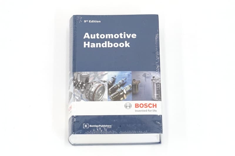 The Bosch Automotive Handbook - Updated 9th Edition, Bentley Publishers,  Hardcover