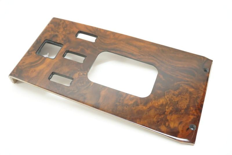 URO Parts WK107BC5 Shift Console Burl Wood
