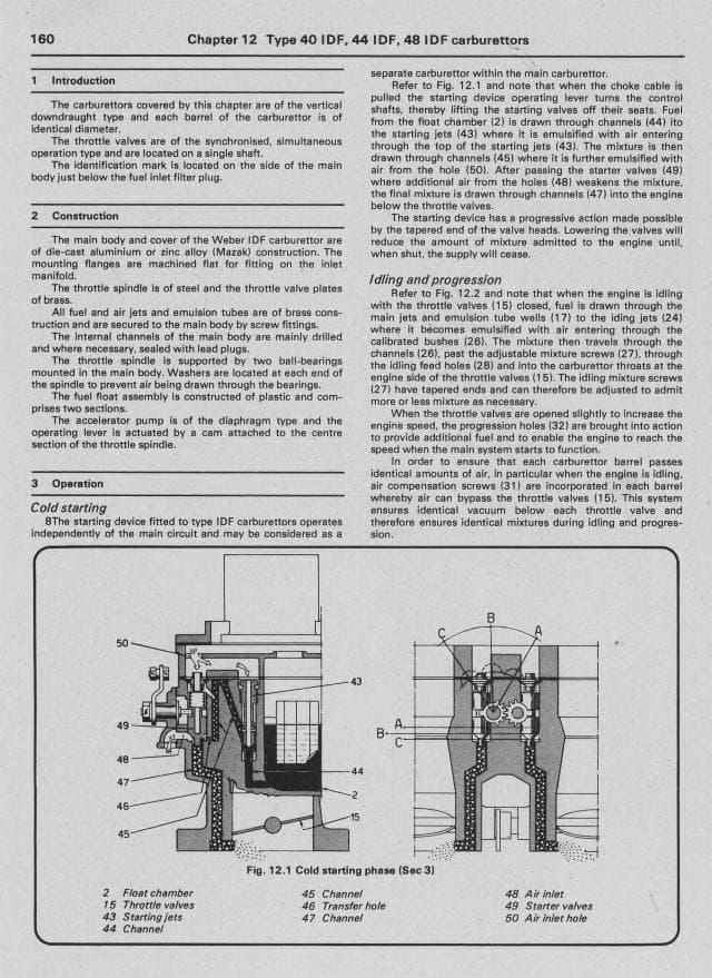 haynes weber carburetor manual pelicanparts com rh pelicanparts com haynes weber carburetor manual download haynes techbook weber carburetor manual