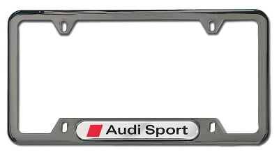 License Plate Frame K Genuine VWAudi Volkswagen K - Audi license plate frame