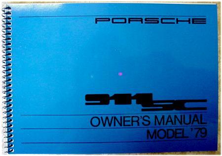porsche 911sc owners manual 1979 wkd468121 genuine porsche wkd rh pelicanparts com porsche 911 sc service manual 2006 porsche 911 carrera s owners manual