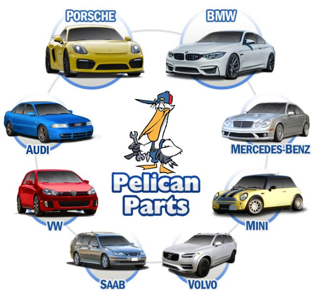 Pelican Parts - Porsche, BMW, MINI, Mercedes, Audi